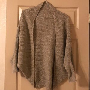 Sweaters - Long sleeve grey/black sweater